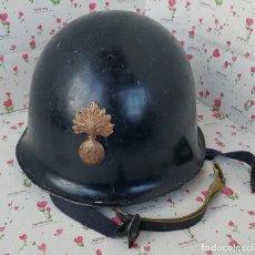 Militaria: CASCO FRANCÉS M 56 P. N. PONT DE BUIS - 1964 R.. Lote 98978703