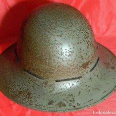 Militaria: ORIGINAL – CASCO DE DEFENSA CIVIL – ZUCKERMAN HELMET O CIVILIAN – 1941 - PSC. Lote 99267039