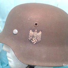 Militaria: CASCO ALEMAN M-42 WEHRMACHT OLLA ORIGINAL . Lote 102583739