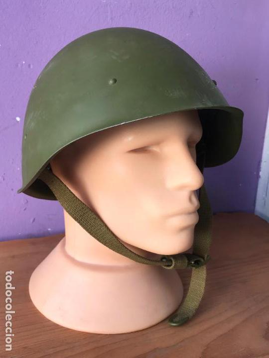 CASCO RUSO M68 NUEVO A ESTRENAR - RUSIA (Militar - Cascos Militares )