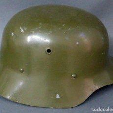 Militaria: CASCO MODELO Z 42 ESPAÑA CON INTERIOR CUERO. Lote 103935571