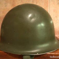 Militaria: MILITAR. CASCO FRANCÉS CON BARBOQUEJO. BUEN ESTADO DE CONSERVACIÓN..,(H.1970?). Lote 106299515