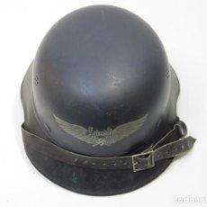 Militaria: SGM WWII CASCO ALEMAN LUFTSCHUTZ MODELO GLADIATOR TALLA 64 COMPLETO Y ORIGINAL GARANTIZADO.. Lote 106643191