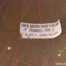 Militaria: CASCO PROBABLE POLICIA MILIT. VIETNAM. Lote 107573643