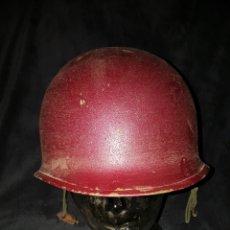 Militaria: CASCO GUERRA COREA USA PINTADO PARA MOTOCICLETA. Lote 107809828