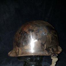 Militaria: CASCO GUERRA COREA USA NICKELADO. Lote 107809859