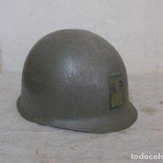 Militaria: ANTIGUO CASCO MILITAR M1 A IDENTIFICAR. Lote 109048719