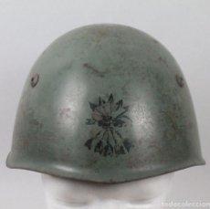 Militaria: CASCO ITALIANO MODELO 1933 FLECHAS NEGRAS GUERRA CIVIL, COLECCIÓN JR. Lote 114875927