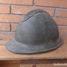 Militaria: * ANTIGUO CASCO ADRIAN REPUBLICANO ORIGINAL, ZONA DE TERUEL. GUERRA CIVIL. ZX. Lote 189343862