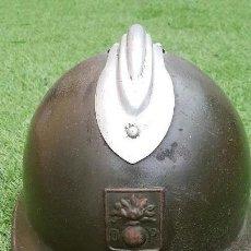 Militaria: 2ª GUERRA MUNDIAL CASCO MODELO 1926 ADRIAN DEFENSA PASIVA FRANCIA. Lote 116861123