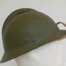 Militaria: CASCO ADRIÁN ITALIANO M1916 LIPPI. PRIMERA GUERRA MUNDIAL, GUERRA CIVIL ESPAÑOLA, CTV, EJÉRCITO DE F. Lote 118694867