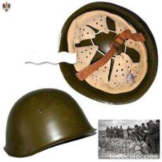 Militaria: CASCO SOVIÉTICO RUSO SSH40 SEGUNDA GUERRA MUNDIAL 1939-1945. Lote 119193411