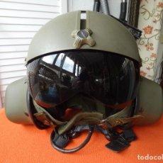 Militaria: CASCO DE PILOTO DE HELICÓPTEROS. Lote 120463247