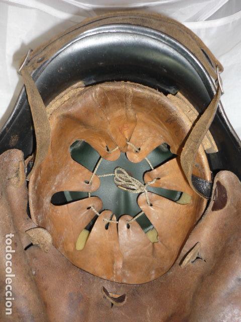 Militaria: Casco Bombero Aleman WW2 - T-54 - Original - Foto 8 - 121279183