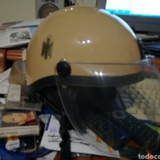 Militaria: CASCO ANTIDISTURBIOS MARRON POLICÍA NACIONAL . EN PERFECTO ESTADO. Lote 122044171
