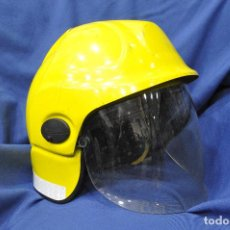 Militaria: REINO UNIDO. CASCO DE BOMBEROS TIPO CROMWELL.. Lote 122074919