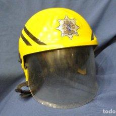 Militaria: REINO UNIDO. CASCO DE BOMBEROS TIPO CROMWELL. OXFORDSHIRE FIRE AND RESCUE.. Lote 122075543