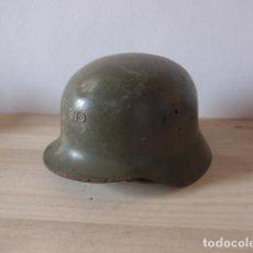 Militaria: ANTIGUO CASCO MILITAR ESPAÑOL Z-42/79, ORIGINAL.. Lote 122775119