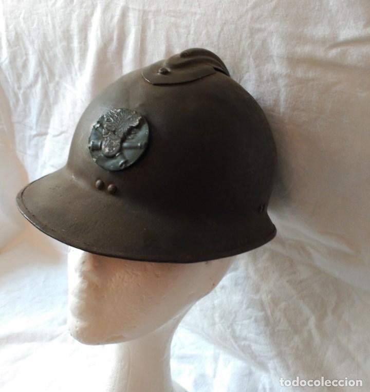 CASCO FRANCÉS ADRIAN MOD. 1926. DE ARTILLERÍA. (Militar - Cascos Militares )
