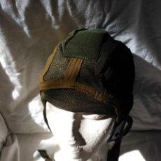 Militaria: CASCO INTERIOR PARA CASCOS DE TRIPULANTES DE CARRO DE COMBATE. NUEVO A ESTRENAR.. Lote 124091883