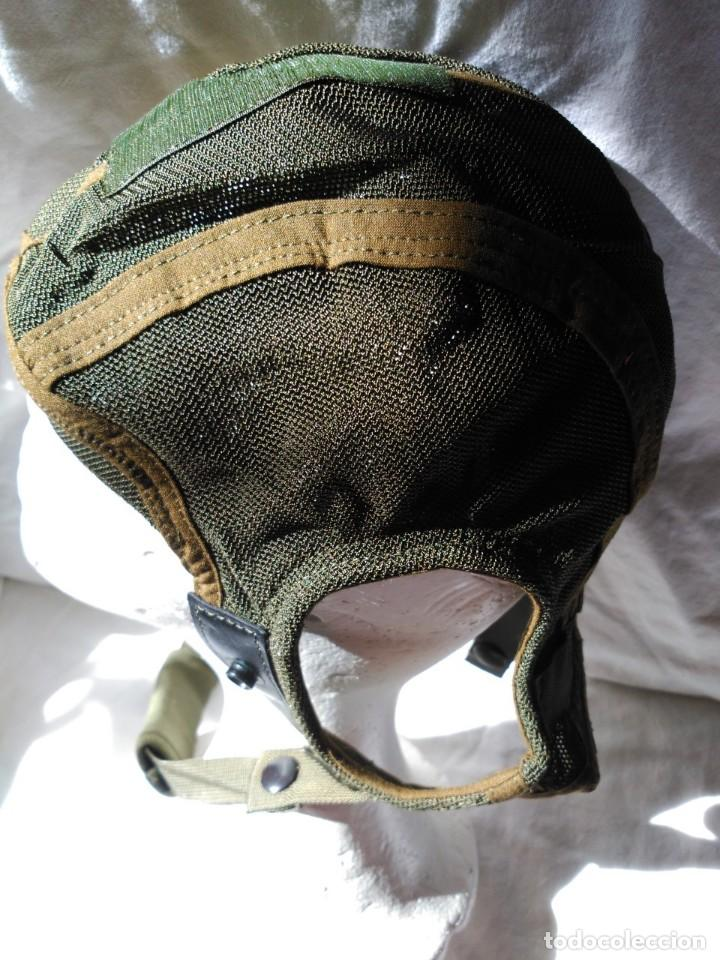 Militaria: CASCO INTERIOR PARA CASCOS DE TRIPULANTES DE CARRO DE COMBATE. NUEVO A ESTRENAR. - Foto 2 - 124091883