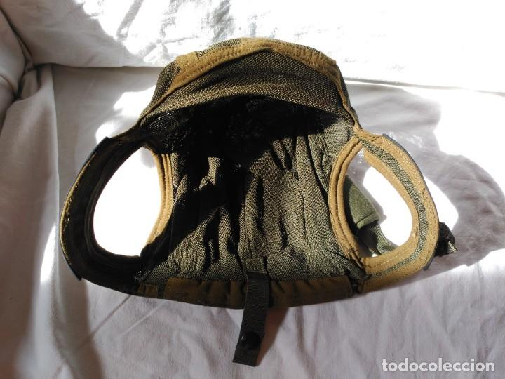 Militaria: CASCO INTERIOR PARA CASCOS DE TRIPULANTES DE CARRO DE COMBATE. NUEVO A ESTRENAR. - Foto 3 - 124091883