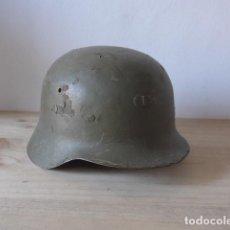 Militaria: ANTIGUO CASCO MILITAR ESPAÑOL Z-42/79, ORIGINAL.. Lote 162984236