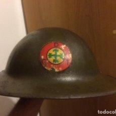 Militaria: CASCO PORTUGUES M-17 CRUZ DE AVIZ. Lote 124517939