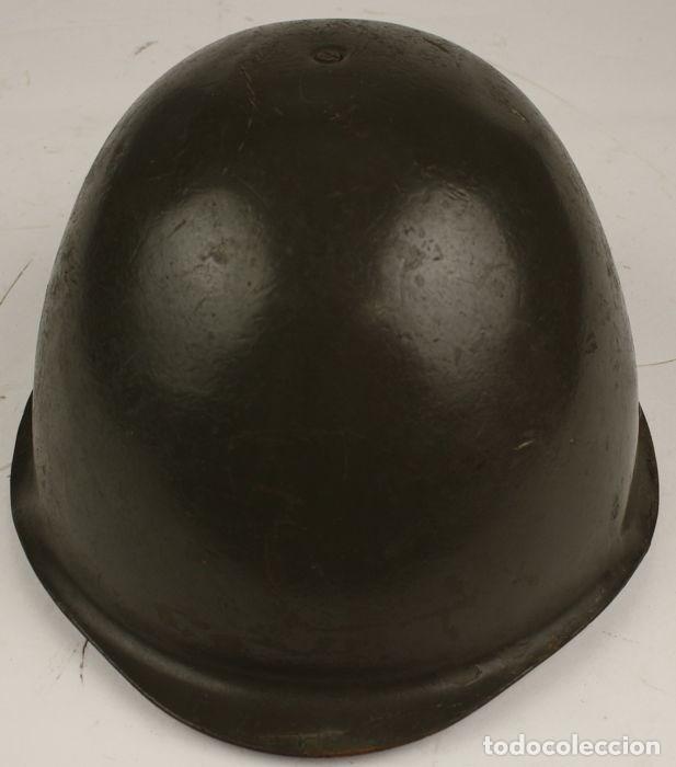 CASCO POLACO WZ-75. UTILIZADO EN SERVICIO. (Militar - Cascos Militares )