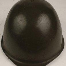 Militaria: CASCO POLACO WZ-75. UTILIZADO EN SERVICIO.. Lote 125074215