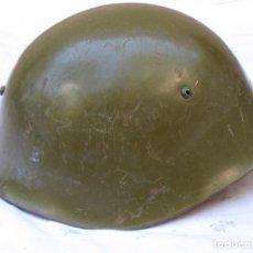 Militaria: CASCO METALICO ANTIGUO DEL EJERCITO ESPAÑOL -. Lote 126258747