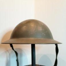 Militaria: RARO CASCO HOLANDÉS TIPO MK-II INGLÉS - VB-55.. Lote 126436635