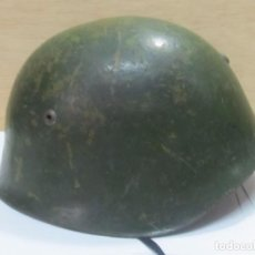 Militaria: ANTIGUO CASCO MILITAR DE HIERRO. Lote 126571639