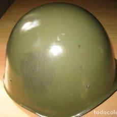 Militaria: CASCO MILITAR DE ACERO, HUNGRIA M-70,ORIGINAL. Lote 128307695