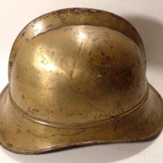 Militaria: ANTIGUO CASCO DE BOMBERO ALEMÁN . Lote 128332315
