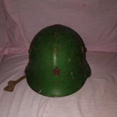 Militaria: CASCO MILITAR ESTRELLA ROJA . Lote 128723427