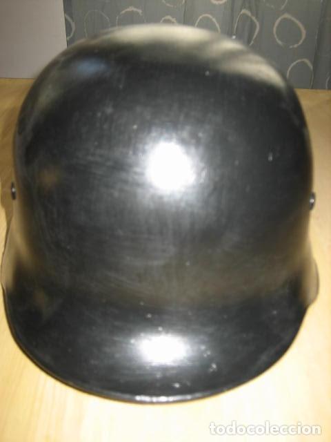 Militaria: Reproducción casco aleman M-34, policia del fuego, segunda guerra mundial. - Foto 3 - 129494395