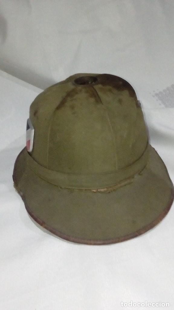 SALACOT DEL AFRIKAKORPS. PRIMER MODELO DE LA WEHRMACHT (Militar - Cascos Militares )