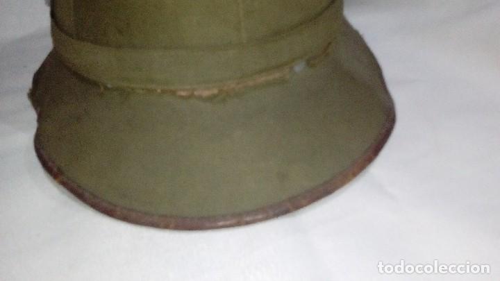 Militaria: Salacot del Afrikakorps. Primer modelo de la Wehrmacht - Foto 4 - 130875332