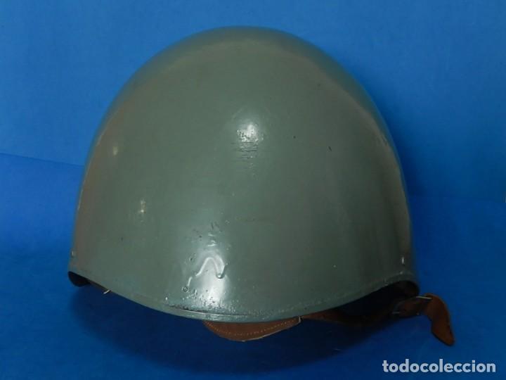 Militaria: Marina Guerra Española. Casco Americano MK2 Talker / Modificado años 75 / 85. - Foto 2 - 132110762