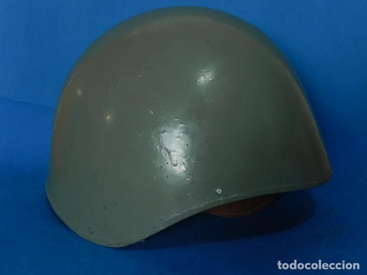 Militaria: Marina Guerra Española. Casco Americano MK2 Talker / Modificado años 75 / 85. - Foto 3 - 132110762