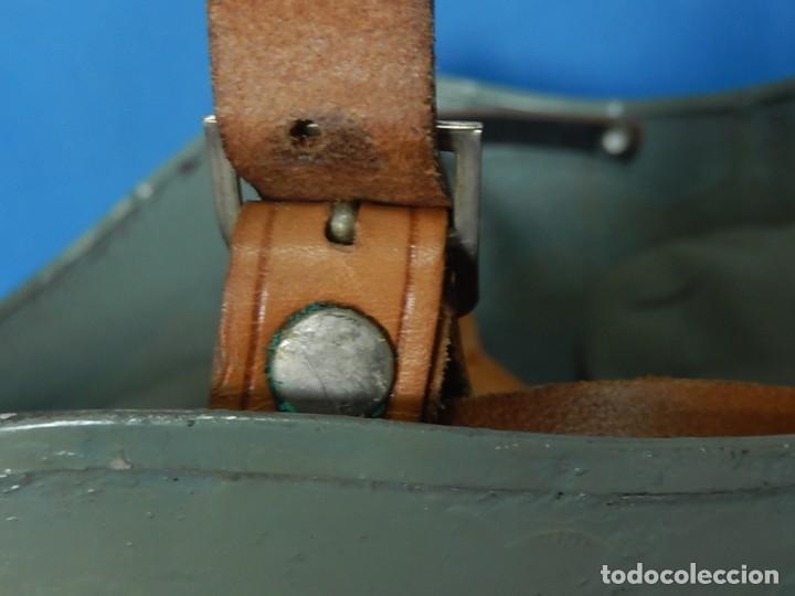 Militaria: Marina Guerra Española. Casco Americano MK2 Talker / Modificado años 75 / 85. - Foto 22 - 132110762