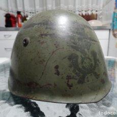 Militaria: CASCO M33 ITALIANO DE LA II GUERRA MUNDIAL. Lote 132434082