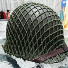 Militaria: CASCO M1 NORTEAMERICANO DE LA II GUERRA MUNDIAL. Lote 132435778