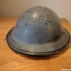 Militaria: CASCO INGLÉS MKII SEGUNDA GUERRA MUNDIAL WWII. Lote 132584534