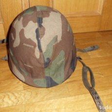 Militaria: CASCO AMERICANO M1. Lote 132760917