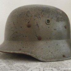 Militaria: ALEMANIA II SEGUNDA GUERRA MUNDIAL ANTIGUO RARO CASCO ALEMÁN LUFTSCHUTZ III REICH AÑO 1944 1945. Lote 133495598