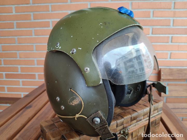 Militaria: Casco piloto helicópteros Gentex guerra de Vietnam - Foto 2 - 133544702
