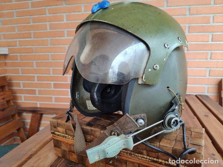 Militaria: Casco piloto helicópteros Gentex guerra de Vietnam - Foto 3 - 133544702