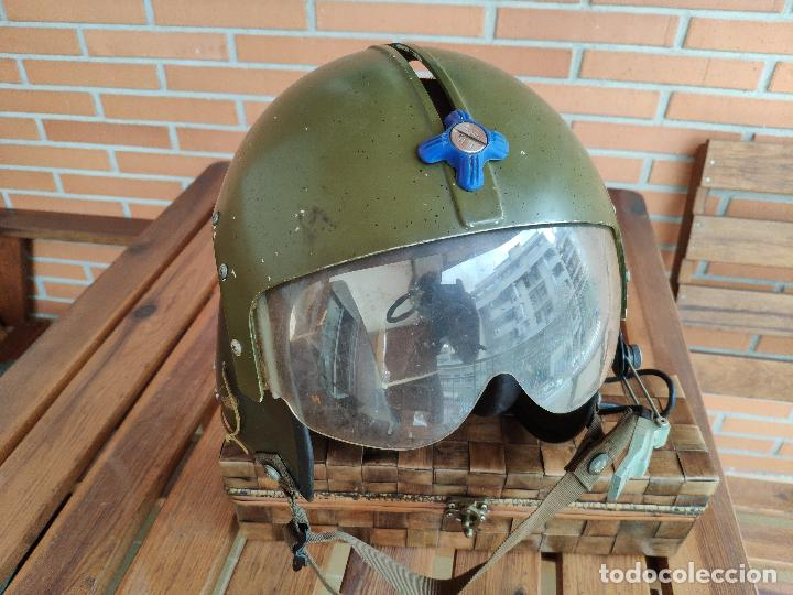 Militaria: Casco piloto helicópteros Gentex guerra de Vietnam - Foto 4 - 133544702